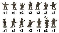 Flames of War - Italian: Rifle Platoon (Bersaglieri) IT763