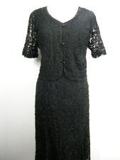 Tailleur e abiti sartoriali da donna nero abito