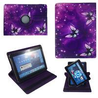 Hülle für Lenovo Tablet E10 LTE Schutz 10 Zoll Tablet Tasche Lila Sterne