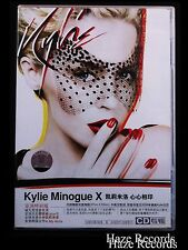 KYLIE MINOGUE X. CD 2007 with Poster, Booklet, Bookmark, & Calendar. Chinese Is.