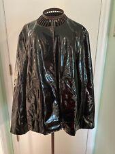 live a little jacket L Rain Coat Black
