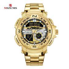 Reloj de Pulsera Deportivo y lujo Digital Led Para Hombre Casual Oro Plata Negro