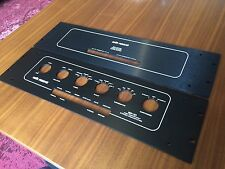 NOS RARE ORIGINAL PAIR BLACK FACEPLATE FOR AUDIO RESEARCH SP10 MK I/II PREAMP