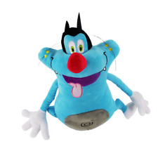 35cm New Oggy and the Cockroaches Soft Plush Toys Stuffed Dolls Cute