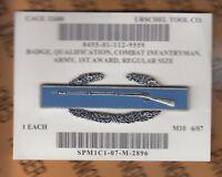 "US Army CIB Combat Infantryman Badge dress uniform Qualification 1st award 3.25"""