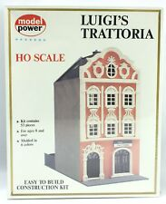 NEW Vintage Model Power HO FLUIGI'S TRATTORIA Model Kit #544 *Ships Quick*