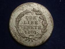 2 Lire ( DUE ) 1801  Franz  - selten W/17/541