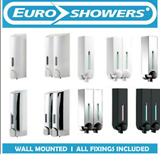 TALL ROUND, MINI CHIC, SMART Wall Mounted Soap Shower Gel Shampoo Dispenser Pump