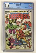 The Defenders #9 (Oct 1973, Marvel) CGC 9.2 OW/W