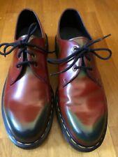 Dr Martens schnürschuhe Shoes cuero rojo Cherry Red Oxblood us 13 EUR 47 UK 12