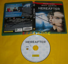 HEREAFTER (Matt Damon) di Clint Eastwood Blu Ray Here After »»»»» EX NOLEGGIO