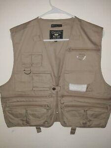 Crystal River Men's Fishing Vest Size Medium Style 3001