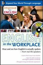 Improve Your English: English in the Workplace DVD w/ Book: Hear and see how E