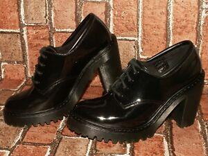 Dr. Martens AirWair SALOME patent leather heels shoes uk 6 eu 39 us 8 Doc#309