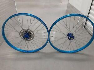 Vintage bmx Blue Ukai Old School BMX sr hubs 26 inch gt Jmc hutch cook bros 80s