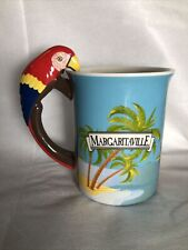 Margaritaville PARROT HEAD Mug Lorrie Veasey Our Name Is Mud Jimmy Buffet