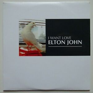 ELTON JOHN : I WANT LOVE (RADIO EDIT) - [ CD SINGLE FRENCH PROMO ]