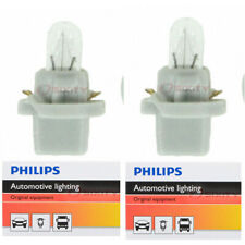 Two Philips Standard Mini Light Bulb PC37CP for PC37 T-1 3/4 12V 0.5W gs