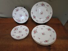 4 Adderley Bread Plates 5 Lunch Plates Fragrance Pattern