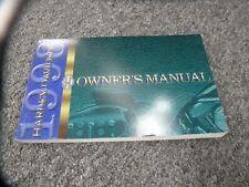 1998 Harley Davidson Road King Electra Glide Motorcycle Owner Operator Manual