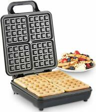 Waffle Maker PAN Cuore Forma Scandinavian ROUND Pancake SOTTILE CROCCANTE fai da te