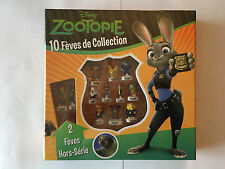COFFRET COLLECTOR 12 FEVES DONT 2 HORS SERIE COMPLET ZOOTOPIE 2017 NEUF EMBALLE