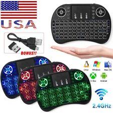 Mini Wireless Remote Keyboard Mouse for Samsung LG Smart TV Android Kodi TV Box