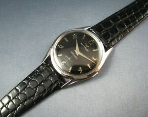 Vintage Longines Wittnauer Stainless Steel Automatic  Mens Watch 11AN 17J 1960s