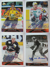 2004-05 UD All World #45 Ulf Nilsson  autograph  aik sweden auto RARE
