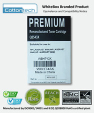 [0493*] WHITEBOX 43X (C8543X) BLACK RE-MANUFACTURED TONER ( RRP>$150 )