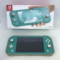 Nintendo Switch HDHSBAZAA Lite - Turquoise W/ GRIPPING Case ,Box & Instructions