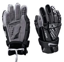 """New Nike Vapor Lt Black & Grey 8"""" Xsmall Lacrosse Gloves"""