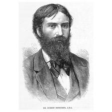 HUBERT HERKOMER Associate of the Royal Academy - Antique Print 1880