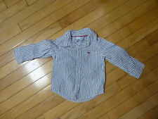 Carters Baby Boys Button Down Shirt Size 18 Months Nice