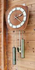 Vintage wall Clock JUNGHANS movement Two Tone chime with speaker