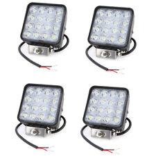 PDR*4X 48W LED LUCE FARO LAMPADA DA LAVORO AUTO BARCA CAMION KLW SUV 12V 24V