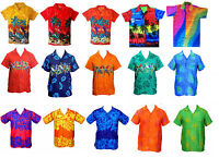 MENS HAWAIIAN SHIRT STAG BEACH HAWAII ALOHA PARTY SUMMER HOLIDAY FANCY  S -XXL