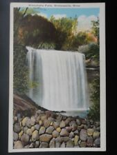 USA MINNEAPOLIS Minnehaha Falls - Old Postcard by R Steinman & Co