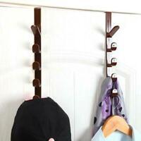 Hanging Rack Holder Organizer Towel Bag Hook Storage For Cupboard Kitchen J4M3