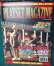 Playset Magazine #36 covers Marx Battle of the Blue & Gray playsets Part 1