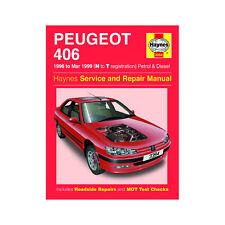 Peugeot 406 1.6 1.8 2.0 Petrol 1.9 2.1 Diesel 96-99 (N to T Reg) Haynes Manual