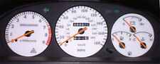Lockwood Toyota Celica ST182 1990-1994 Import 180MPH SILVER (ST) Dial Kit 44UUU2