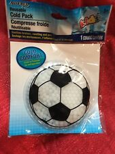 Kids Children Reusable Ice Cold Gel Beads Pack Wrap Boo Boo Buddy Soccer Ball