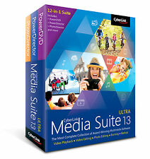 Cyberlink Media Suite 13 Ultra - BEST VALUE 12-IN-1 MULTIMEDIA COLLECTION