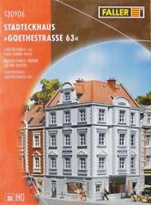"Faller 130906 H0 - Stadteckhaus "" Goethestraße 63 "" NEU & OvP"
