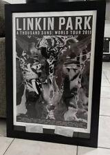 Linkin Park Litho Print Numbered Rare HTF Thousand Suns Tour W/ Tickets