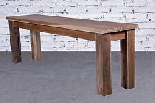 Opium Outlet en bois tischbank chaise teck Indonésie colonial