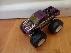 Hot Wheels Monster Jam 1/64 - Rey Mysterio Wwe Wrestling de Metal Monster Truck