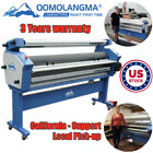 US Stock 55in / 63in Full-auto Heat Assisted Roll to Roll Large Cold Laminator