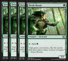 Elvish Mystic NM X4 Duel Decks: Elves Vs Inventors Green Common